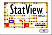 StatView 4.0 (1992)
