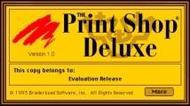 The Print Shop Deluxe 1.0 (floppy version) (1993)