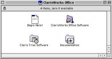 ClarisWorks 5.0 UK (1997)