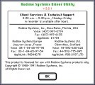 Rodime Driver Utility 2.2.1 (1991)