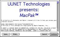 UUNET MacPak 3.1 (1995)