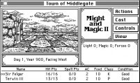 Might and Magic II: Gates to Another World (1990)