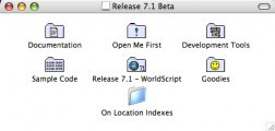 System 7 Release 7.1b7 CD (Beta) (1992)