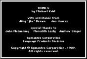 THINK C 4.0 (1989)