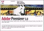 Adobe Premiere 5.0 + 5.1 (1998)