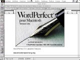 WordPerfect 3.0a (French Canadian) (1994)