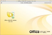 Microsoft Office 2008 for Mac Service Packs SP1 SP2 SP3 (2010)