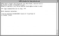 MPEG Audio for Macintosh 0.3.3 (1994)