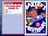 Puddle Books: Baxter's Birthday (1998)
