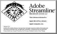 Adobe Streamline  2.2 (1993)