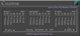 Calendar 1.01 (1992)