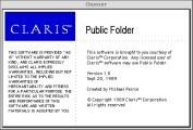 Claris Public Folder (1989)