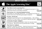 Apple Learning Disc (1988)