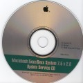 Macintosh 5xxx-6xxx OS 7.5 v 2.0 Update Service CD (1995)