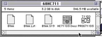 68HC711 dev kit (1995)