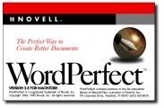 WordPerfect 3.5 [Novell] (1995)