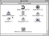 Strata RenderPro 2.5 + Strata Virtual Navigator 1.0 (1994)