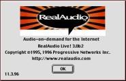 Real Audio Live! + Encoder 3.0b2 (1996)