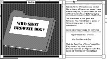 Who Shot Brownie Dog? (0)