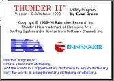 Thunder II 1.0.2 (1990)