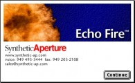 Fire Echo plugin (for After Effects or Photoshop) (2000)