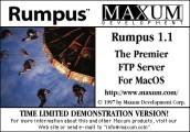 Rumpus Pro 1.1 (1999)