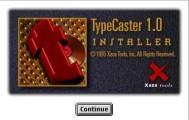 TypeCaster 1.x (1995)