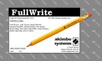FullWrite Professional 2.0.6 (1996)