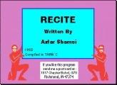 Recite (1993)