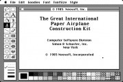 The Great International Paper Airplane Construction Kit (1985)