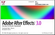 Adobe After Effects 3.0 (1995)