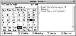 Smart Calendar 2.x (1990)