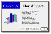 ClarisImpact 1.0CDv3 (1994)