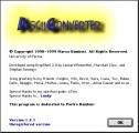 Ascii Converter 1.4.1 (1999)