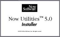 Now Utilities 5.0 (1994)