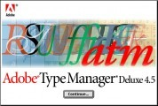 Adobe Type Manager 4.5.x (1999)