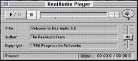 RealAudio Player 3.0 (1996)