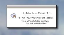 Folder Icon Maker 1.x (1995)