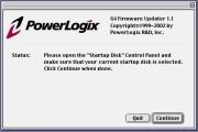 PowerLogix G4 Firmware Updater 1.1 (2002)