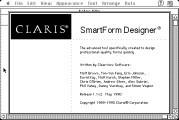 Claris SmartForm Designer (1990)