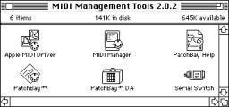 Apple MIDI Manager 2.0.2 (1993)