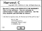 Harvest C 1.3 (1993)
