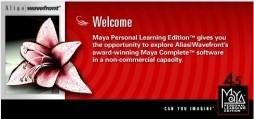 Alias|Wavefront Maya 4.5 PLE (2002)