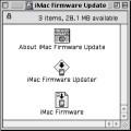 iMac G3 Firmware Update 4.1.9 (2001)