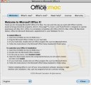 Microsoft Office X (2001)