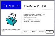 Claris FileMaker Pro v2.0D (1992)