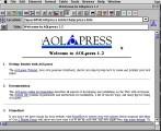 AOLpress 1.2.2 (1996)