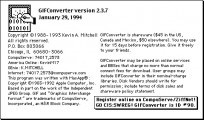 GIFConverter 2.x (1994)