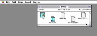 MCU803x intel microcontroler (1994)