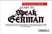 Learn To Speak German (1995)